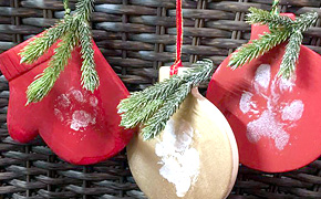 Painting Holiday Ornaments